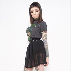85248517ff UNIF Skirts | Lip Service 24hrs Iron Fist Vinyl Mesh Sexy Skirt ...