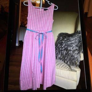 Ralph Lauren Black Label Other - Ralph Lauren gingham pink dress for girl