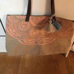 Handbags - Boho beach bag FREE WITH BATHING SUIT PURCHASE
