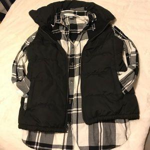 Jackets & Blazers - Black puffer vest
