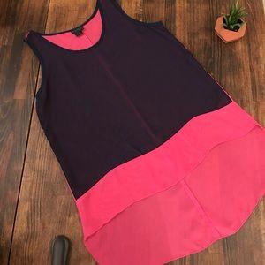 pat rego Tops - Pat Rego navy blue and pink maternity top tunics