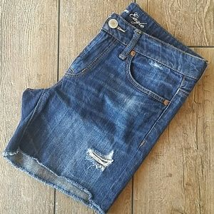 American Eagle Outfitters Pants - 🔥AMERICAN EAGLE DISTRESSED CUTOFFS🔥