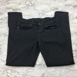 Uniqlo Denim - UNIQLO women's black skinny jeans
