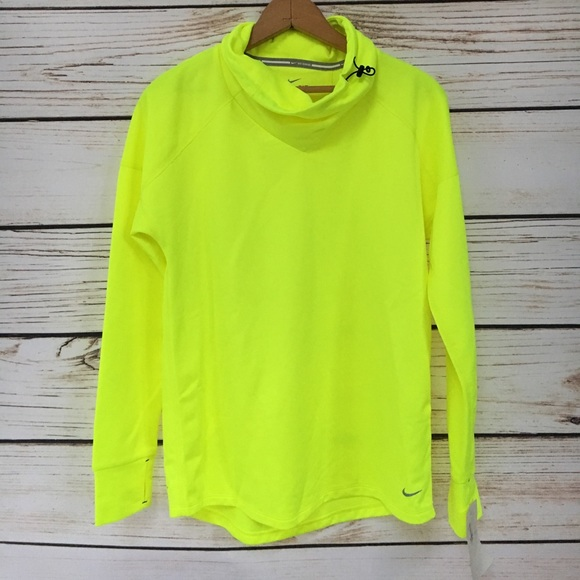 a7a4a278 Nike Tops | Nwt Neon Yellow Running Long Sleeve Sz Xs | Poshmark