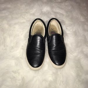 Shoes - Black Slip Ons