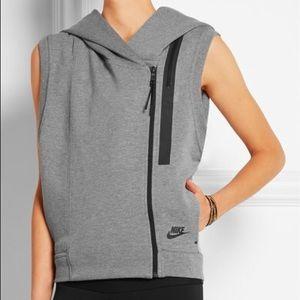ce37c8f5650c Nike Jackets   Coats - Nike Women s Tech Fleece Hooded Sport Casual Vest