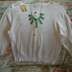Joseph Allen Sweaters - Worn once! Joseph A. 3/4 sleeve sweater. Sz Large