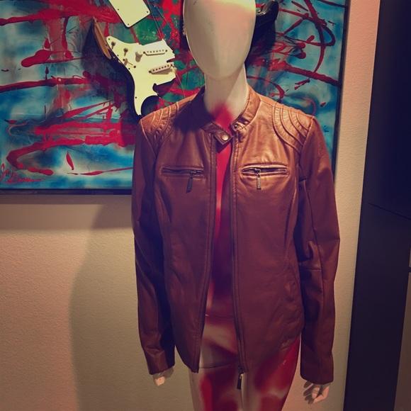 Joujou Leather Jacket