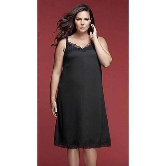 d1040d2d9b1 Glamour x Lane Bryant Slip Dress