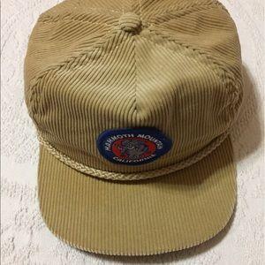 Vintage Accessories - Vintage Corduroy Mammoth Mountain California Cap 7587a6fedd8