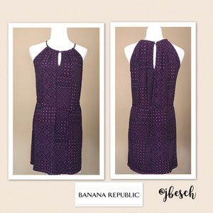 Banana Republic Factory Store Dresses & Skirts - Banana Republic Factory Store Navy & Pink Dress
