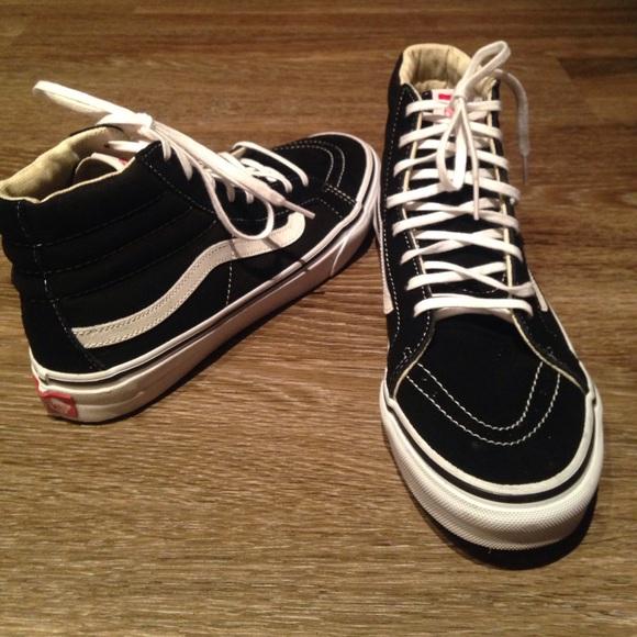 Vans Sk8 high black  white sneakers 10 women s. M 592a4d21f0137d12b002e17d 3812ccefc