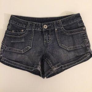 Pants - Younique Faded Black Jean Shorts