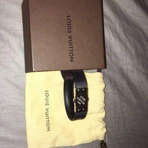 Louis Vuitton Other - Louis Vuitton check it bracelet
