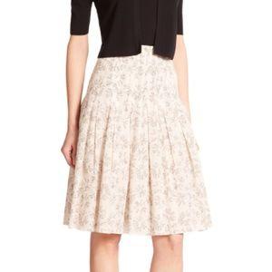 Akris Dresses & Skirts - AKRIS PUNTO MATCHSTICK VOILE COTTON PLEAT SKIRT