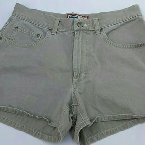 OLD NAVY Denim Brown shorts sz 8