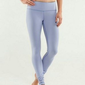 lululemon athletica Pants - Wunder Under Reversible Lilac