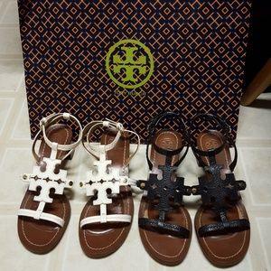 Tory Burch Shoes - Tory Burch Chandler T Block Heel Strappy Sandal