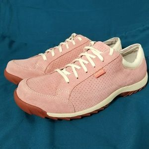 Simple Shoes - SIMPLE *nwot* Sz 11 Pink Suede Athletic Shoes