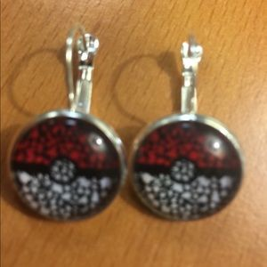 Jewelry - New Red and Black Printed Earrings