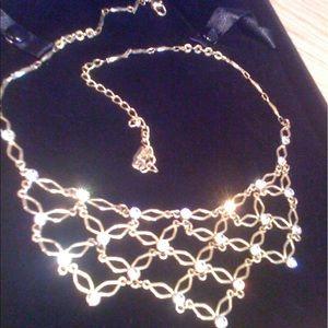 Vintage / Rhinestone BIB Necklace