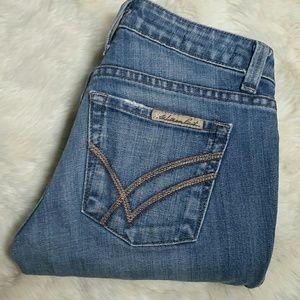 William Rast Denim - William Rast Straight Leg Sadie Jeans Size 24