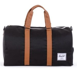 Herschel Supply Company Other - NWT HERSCHEL RAVINE DUFFLE BLACK TAN