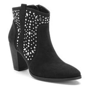Jennifer Lopez Women's Studded Ankle Boots