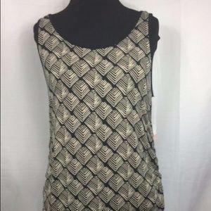 NWT Liz Lange Sleeveless Maternity Dress Diamond