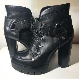 Zara Shoes - ZARA COMBAT BOOTS!!