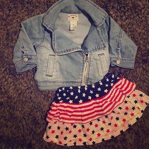 Carter's Other - Cutest denim jacket!! 🐚🐚🐬🐠🐟🌺🌻🍓🍇