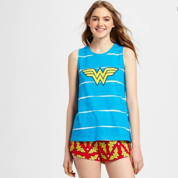 Wonder Woman Intimates Amp Sleepwear Xs Womens Superhero