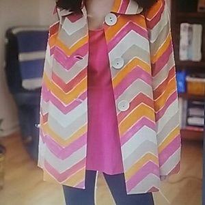 3 Sisters Jackets & Blazers - New 3 Sisters Brand ZigZag Print Summer Jacket