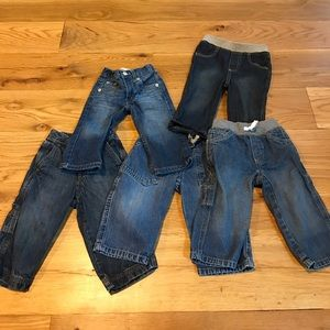 Other - 5 pairs of jeans for baby
