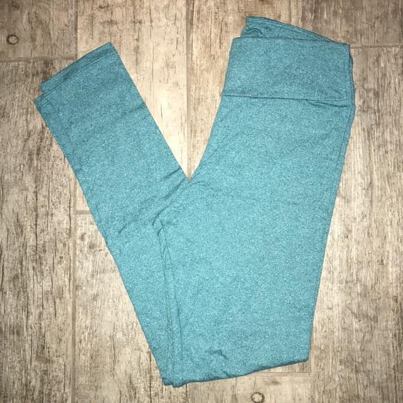 LuLaRoe - ud83cudd95NWOT Lularoe OS heathered blue leggings from Sarau0026#39;s closet on Poshmark