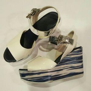 Agl Shoes - AGL Atilla Giusto Leomburni wave platform wedge