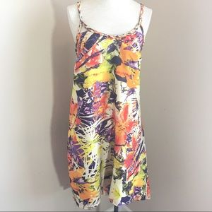 Jessica Simpson Pretoria Dress High Low Tropical
