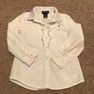 Ralph Lauren Other - Ralph Lauren girls button up blouse. Very classic!