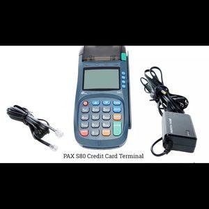 NEW PAX S80 | Dual Com | Chip EMV + Apple Pay C.C.