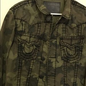 True Religion Other - True religion camouflage jean jacket