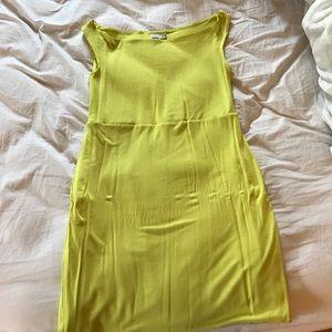 Asos green pencil dress