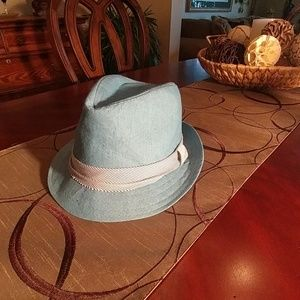 Toby Other - Blue Fedora Toddler 2-4 Years