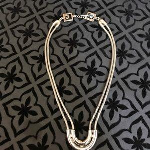 Pierre Cardin Jewelry - Vintage Pierre Cardin silver tone choker