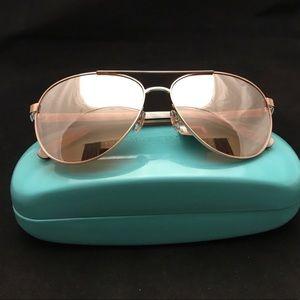 kate spade Accessories - Kate Spade Sunglasses NWT/Blossom.  Rose Gold