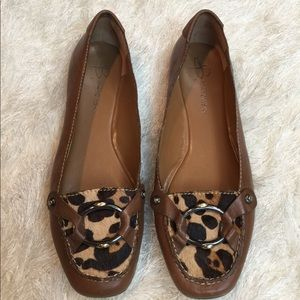 b. makowsky Shoes - B. Makowsky leopard flats