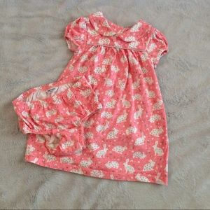 Mini Boden Other - Baby Boden Bunny Print Cotton Jersey Dress Mini