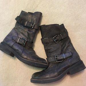 Steve Madden Moto boots Size 8