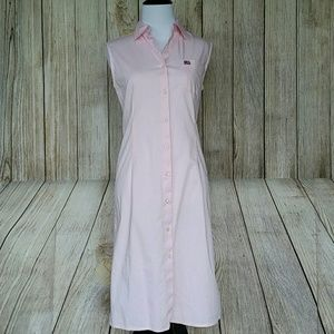 Ralph Lauren Polo petal pink shirt dress