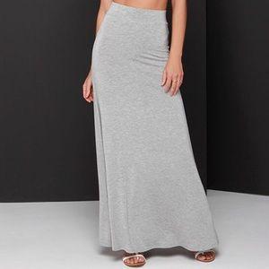 jcpenney Dresses & Skirts - 💐JCP Gray 1X Maxi Skirt, like new!