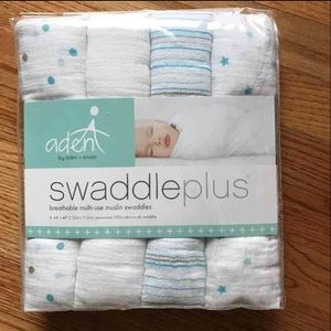 aden + anais Other - Aden & Anais Swaddle Plus Blankets